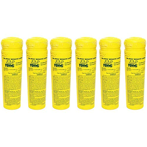 - SPA FROG 6 Pack of Bromine Cartridges (Bundled with Pearsons Scumball Absorber)