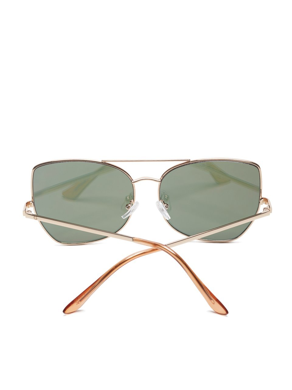 G by GUESS Women's Mirrored Top Bar Sunglasses by G by GUESS (Image #3)