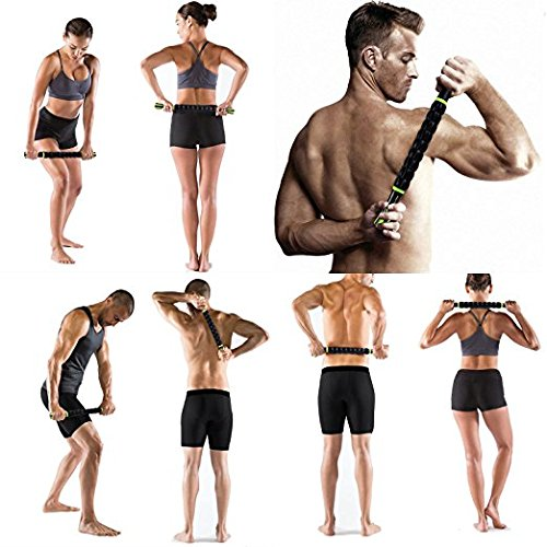Muscle Roller Stick Sportneer Back Leg Calf Massage Sticks for Atheletes, Massager Tool for Reducing Muscle Soreness, Loosing Tightness and Soothing Cramps by Sportneer (Image #5)