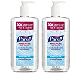 Health & Personal Care : PURELL Advanced Hand Sanitizer Refreshing Gel, Clean Scent, 1 Liter Pump Bottle (Pack of 2) - 3080-02-EC