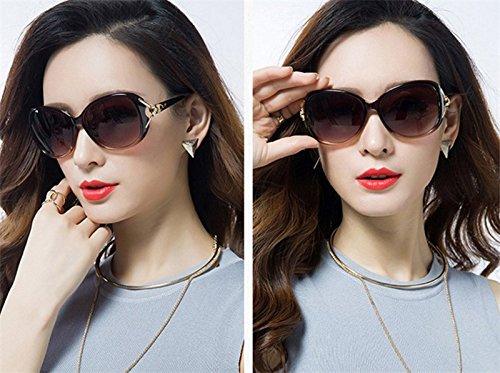 Sol Resina de Sol Moda Polarizado Mujer de UV la Retro Gafas Gafas Nikgic Conducción Deportiva Portección E para qfUFgtwt