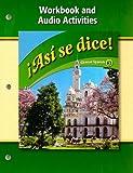 Asi se dice!: Workbook and Audio Activities (Glencoe Spanish: Level 3) (Spanish Edition)