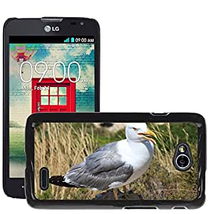 Super Stella Slim PC Hard Case Cover Skin Armor Shell Protection // M00146256 Seagull Bird Ave Wings Birds Nature // LG Optimus L70 MS323