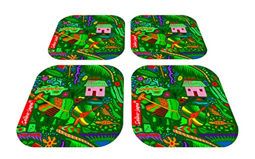 (Selina-Jayne Tropical Island Limited Edition Designer Coaster Gift Set)