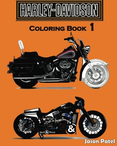 - Amazon.com: Harley-Davidson : Coloring Book 1: Sketch Coloring Book  (9781539116288): Patel, Jason: Books