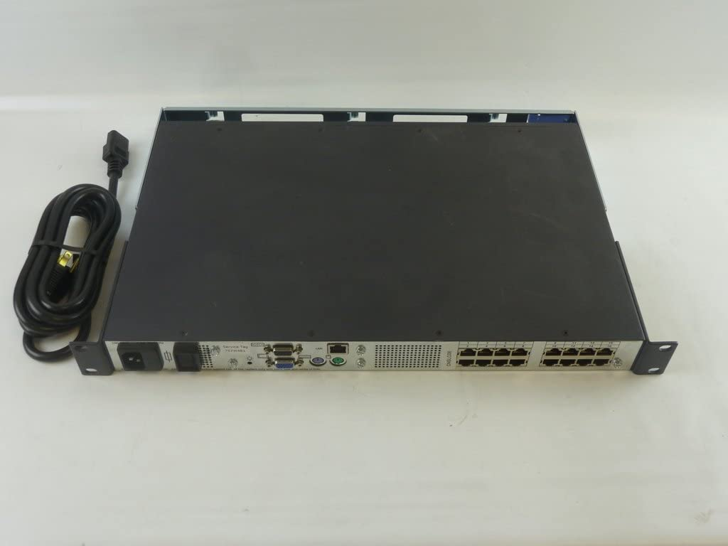 Dell Poweredge 2161DS-2 16-Port KVM Console IP Switch