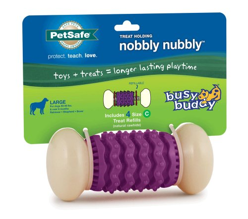 PetSafe Busy Buddy Nobbly Nubbly Dog Toy, Large