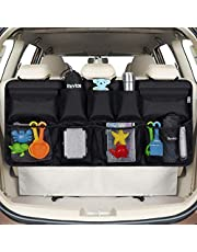 Rovtop Car Trunk Organizer, Car Trunk Bag, SUV and MPV Trunk Organizer, 9 Pockets for Car Gadget Storage, Car Tidy and Carry More Items