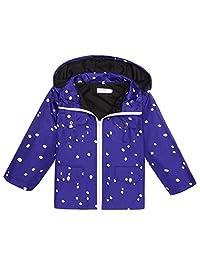 Arshiner Girls Kids Waterproof Rain Jacket Coat Hoodie Outwear