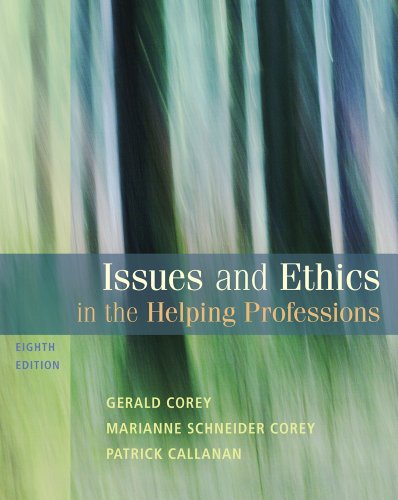 Blackboard Printed Access Card - Bundle: Issues and Ethics in the Helping Professions, 8th + WebTutorTM on Blackboard Printed Access Card