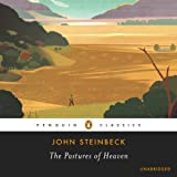 Front cover for the book The Pastures of Heaven by John Steinbeck