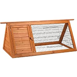 Ware Manufacturing Premium Plus Backyard Hutch for Rabbits and Small Pets
