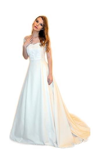 73e7c50d6f08 Abito da sposa sartoriale alta moda made in Italy (Mod. A54 - Outlet ...
