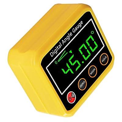 Winkelmesser, digitaler Winkelmesser-Neigungsmesser Winkelmesser Magnetfuß - Präzisions-Level-Box für Automobil…
