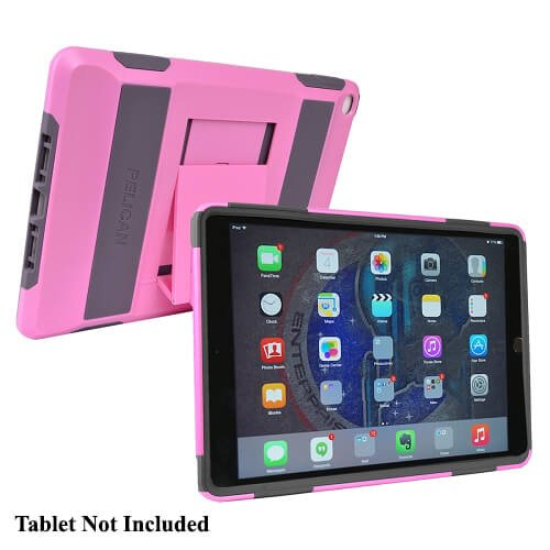 Pelican Voyager Ultra Rugged 2-Layer Case for iPad Air 2 w/Kickstand (Pink) (Pelican Case 7 Tablet)