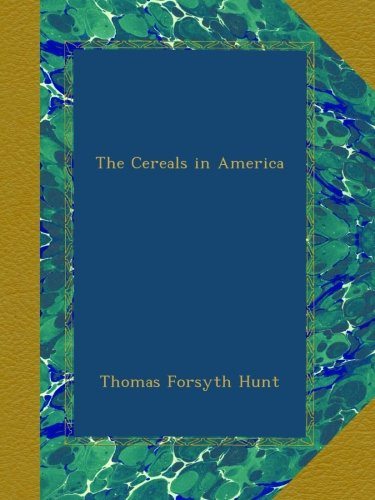 The Cereals in America ebook