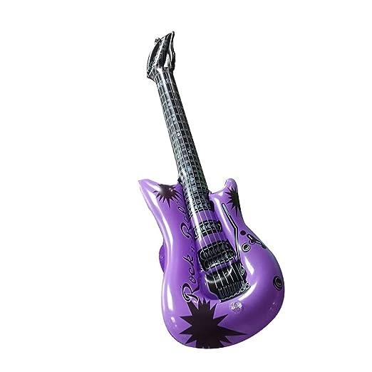 Steellwingsf Micrófono de Guitarra Inflable de PVC, Instrumento ...