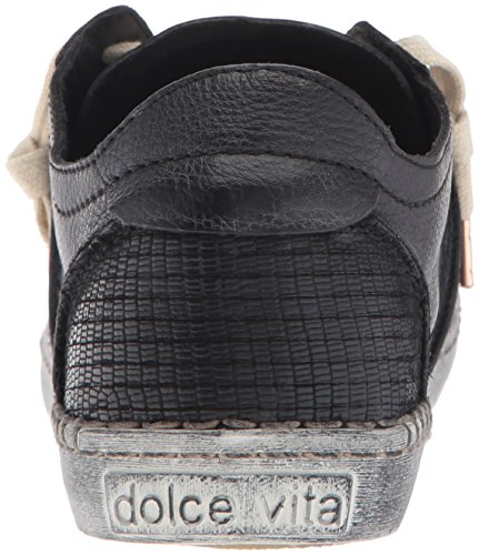 Black Vita Dolce Zander Women's Fashion Sneaker 8THqw16x