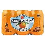 San Pellegrino Sparkling Water - Aranciata - Case of 4 - 11.1 Fl oz.