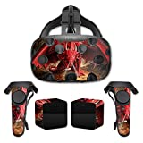 MightySkins Protective Vinyl Skin Decal for HTC Vive wrap cover sticker skins Angry Dragon