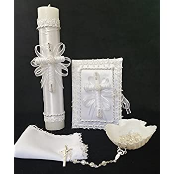 Vela Para Bautizo/Candle for Baptism En Espanol
