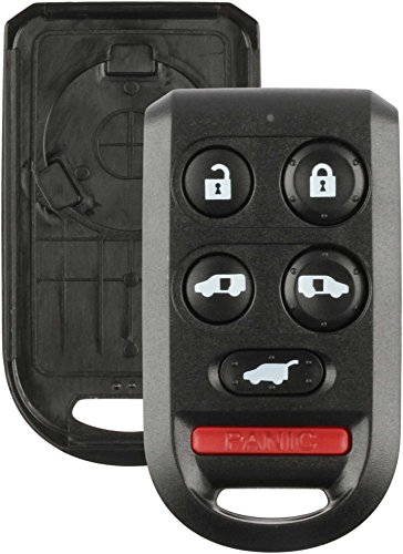 Discount Keyless Replacement 6 Button Shell Case and Button Pad Compatible with OUCG8D-399H-A, G8D-399H-A