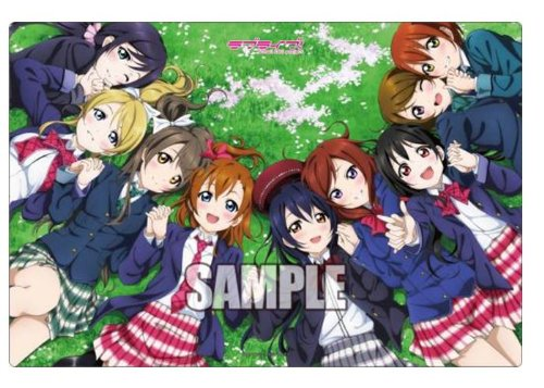 Bushiroad rubber mat collection Vol.9  Love Live   (japan import)