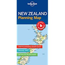 Lonely Planet New Zealand Planning Map 1st Ed.