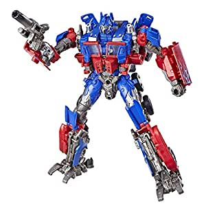 """TRANSFORMERS - 6.5"""" Optimus Prime Action Figure - Generations - Studio Series Voyager Class - Takara Tomy - Kids Toys - Ages 8+"""