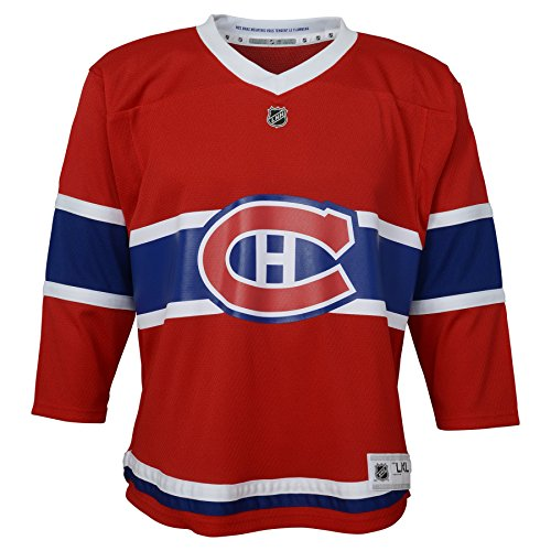 Outerstuff NHL Montreal Canadiens Infant Replica Jersey-Home, Red, Infant One Size(12-24M) (Montreal Canadiens Replica Jersey)