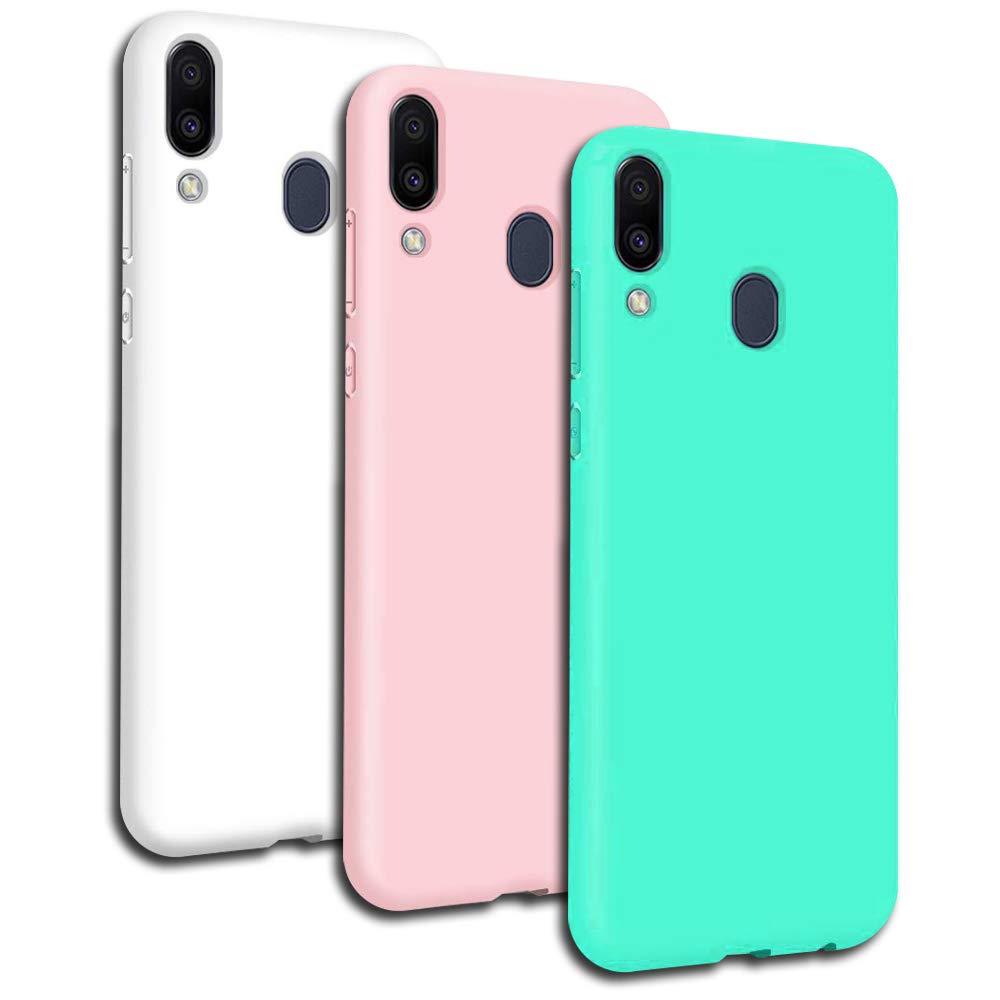 Carcasa Protectora para Samsung A40 Ultra Fina Case para Samsung A40 Gel TPU Negro Azul Rojo Rosa Verde Blanco Silicona Funda para Samsung A40 Flexible 6X Funda Samsung A40