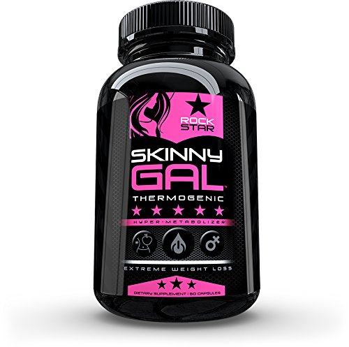 Skinny Gal Weight Loss for Women, Diet Pills by Rockstar, The #1 Thermogenic Diet Pill and Fast Fat Burner, Carb Block & Appetite Suppressant, Weight Loss Pills, 60 Veggie Cap by Rockstar