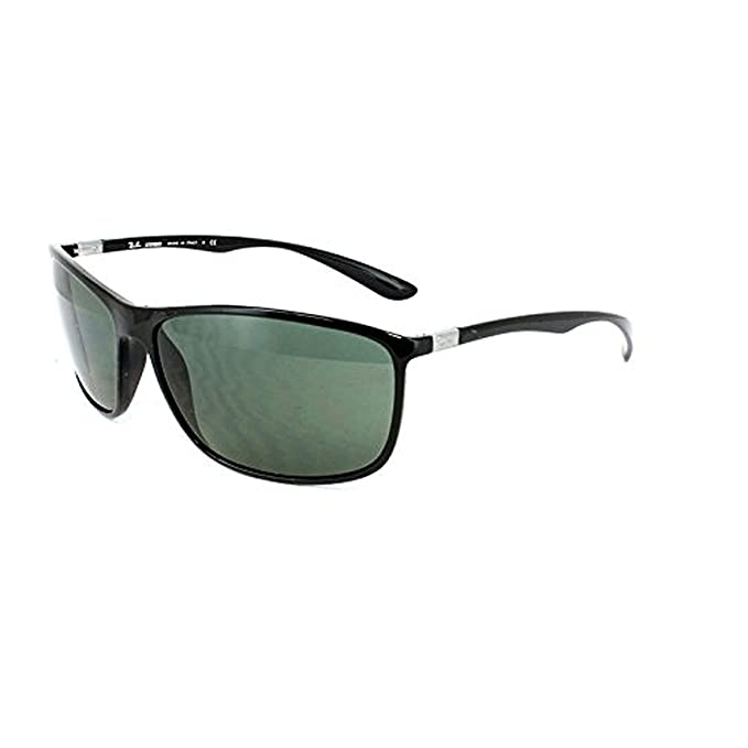 77fea3f199e4a Ray-Ban RB4231 Sunglasses Black   Grey Green 65mm   Cleaning Kit Bundle