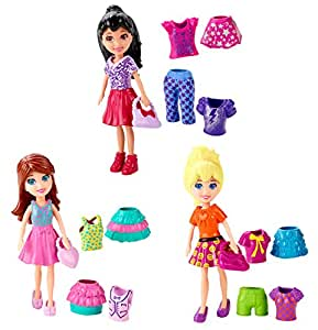 Amazon.com: POLLY POCKET (# CBW79)- 1 doll with clothes ...