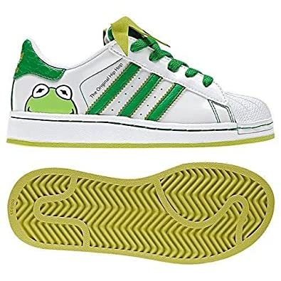Adidas Superstar 2 Disney Kermit Toddler Infant Shoes (8)