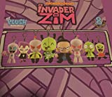 Nickelodeon Invader Zim Mini Clip On Blind Box Plush Figure, Pack of 3