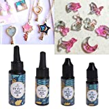 Lamdoo UV Resin Epoxy DIY Jewelry Making Transparent Hard Curing Activated Craft 4 Size