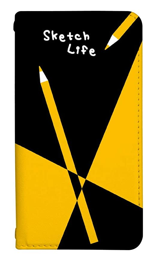 c04dc6068f スマホケース 手帳型 ベルトなし アイフォン6sケース 8151-E. 鉛筆 iphone6s ケース カバー