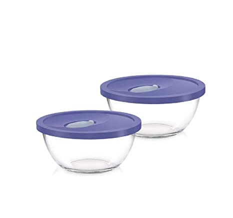 Terrific Buy Treo Mixing Bowl With Flexi Lid 1000 Ml 2 Pcs Set Online Onthecornerstone Fun Painted Chair Ideas Images Onthecornerstoneorg