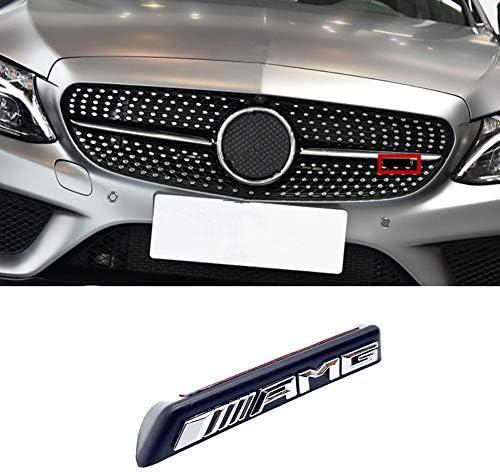 N A Kühlergrill Stoßstange Vorne Mit Amg Diamond Logo Für Mercedes Benz Mini Logo Amg A B C E Klasse W176 W246 W204 W205 W212 W213 Silber Küche Haushalt