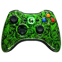 GREEN ZOMBIE 5500 + Modded Xbox 360 Controller Hydro Dipped Mod with Rapid Fire / Jitter / Quick Scope / Sniper Breath / Drop Shot / Jump Shot / Auto Aim / Quick Aim / Burst / Akimbo / Mimic / Adjustable / Adjustable Burst / Auto Burst / Dual Trigger and more! For COD Ghosts / MW1 / MW2 / MW3 / Black Ops 1 / Black Ops 2 / WAW / Gears of War Series / Halo Series / GTA / BF and more! 5000