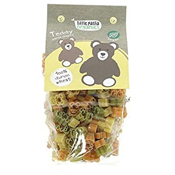 Little Pasta Organics | Teddy Bear Pasta | 2 x 12 x 250g