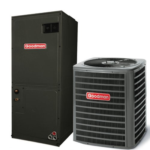 13 Seer Air Conditioning (Goodman 2.5 Ton 13 SEER AC with 60 000 BTU 92% AFUE Upflow Gas Furnace GSX130301GMSS920603BN)