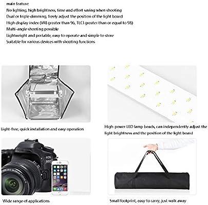 Folding Small Product Photography Kit , Photography Studio Light Box Shooting Tent Kit,Photo Studio Tent HWENJ Mini Portable Photography Studio Light Tent