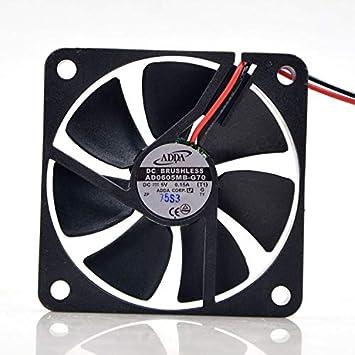 Amazon.com: ADDA AD0605MB-G70 - Ventilador de refrigeración ...