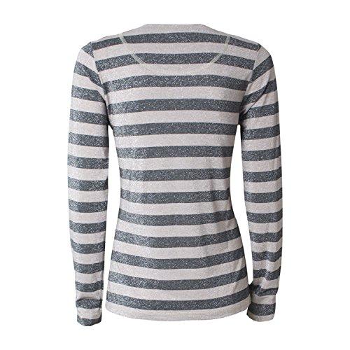 Langarmshirt Prado Tee - von MOS MOSH - Farbe Black stripe