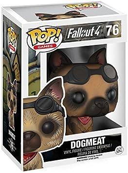 Fallout 4 - Dogmeat Vinyl Figure 76 Figura de colección: Amazon.es: Juguetes y juegos
