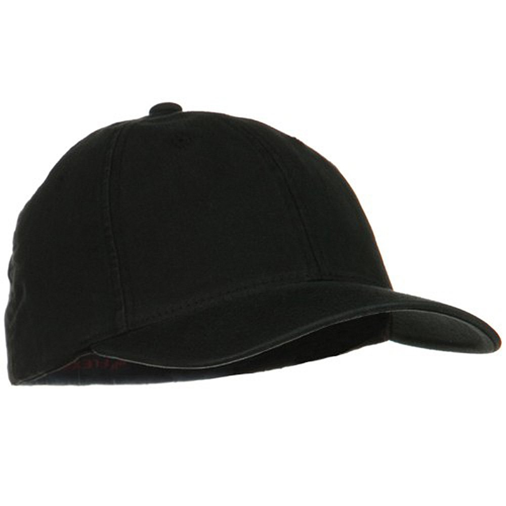 ad475ed07d3ae Flexfit Garment Washed XXL Large Cap - Black W06S36F at Amazon Men s  Clothing store  Baseball Caps