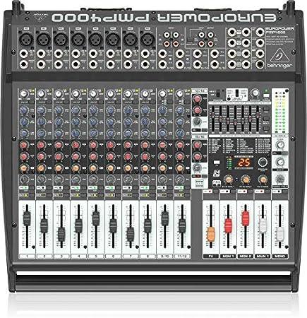 Mesa de mezclas Behringer Pmp2000D