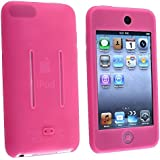 eForCity Premium Silicone Skin Case for iPod touch 1G/2G (Hot Pink)